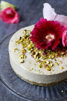 Pistachio Ice Cream Cake (grain-free & vegan) - Nirvana Cakery