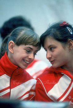Yelena Shushunova and Oksana Omelianchik