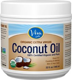 Looking for a healthy product in your diet?  The Viva Labs Organic Extra Virgin Coconut Oil is a great product for the whole family and extremely versatile.