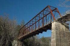 Bridge Historic Big South Fork Whipple Truss Scott County Tennessee