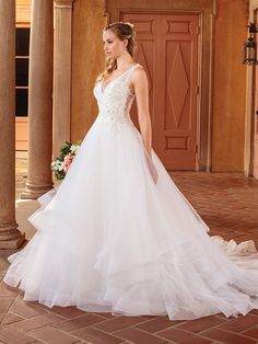 Wedding Dress 2314 Birdie by Casablanca Bridal - Search our photo gallery for pictures of wedding dresses by Casablanca Bridal. Find the perfect dress with recent Casablanca Bridal photos. How To Dress For A Wedding, Perfect Wedding Dress, Bridal Wedding Dresses, Dream Wedding Dresses, Bridal Style, Casablanca Bridal Gowns, Wedding Dress Pictures, Mermaid Dresses, Dream Wedding