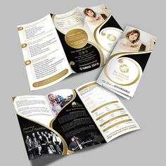Create a brochure for a Conservatory of Music! by Rose''