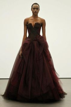 The Big Chop modeling for Vera Wang, go girl
