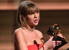 Did Taylor Swift call out Kanye West during Grammy win for Album of Year?