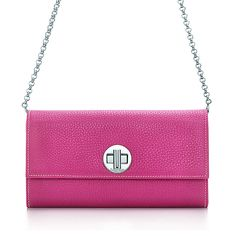 City clutch wallet in orchid grain leather. More colors available. | Tiffany & Co.