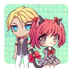 Ryou and Ichigo