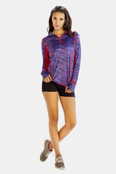 Alanic Clothing: The Leading Global Clothing Manufacturer: The blue and red sweatshirt from Alanic, the leading e-store is high on style and comfort Gym Jacket, Jackets For Women, Clothes For Women, Sweatshirts Online, Jackets Online, Clothing Company, Wholesale Clothing, Custom Clothes, Active Wear