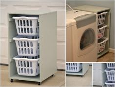 10 Practical DIY Projects for Laundry Room Organization 1