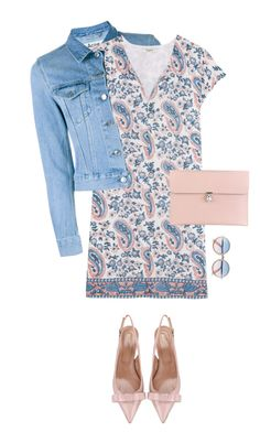 """""""Through rose colored glasses"""" by lisamichele-cdxci ❤ liked on Polyvore featuring Acne Studios, Madewell, RED Valentino, Sunday Somewhere and Alexander McQueen"""