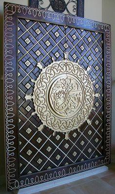 Masjid Nabwi Door replica - 6'x8' by rahimakbar, via Flickr
