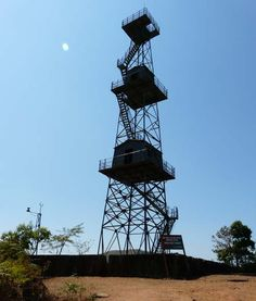 Watch tower at silent valley