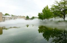 Fujiko Nakaya Covers the Sapporo Art Museum in Fog