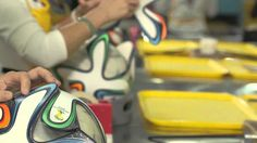 adidas Brazuca official ball WC 2014 - Production