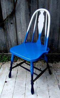 spray-paint shop renovation, DIY chair