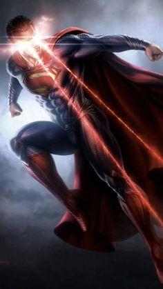 Superman (Man of Steel) Batman Vs Superman, Superman Shot, Arte Do Superman, Mundo Superman, Superman Man Of Steel, Wallpaper Do Superman, Superman Artwork, Arte Dc Comics, Marvel Dc