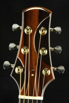 Electric Guitar Headstocks By Brand : 2014 kostal guitars j acoustic guitar ebony and brazilian rosewood dream guitars ~ Hamham.info Haus und Dekorationen
