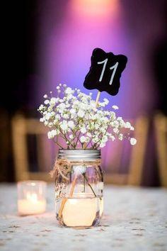 40 Beautiful Wedding Decor, Rustic Wedding Ideas - Part To Remember Wedding Centerpieces, Wedding Table, Diy Wedding, Wedding Reception, Rustic Wedding, Wedding Flowers, Dream Wedding, Wedding Decorations, Wedding Day
