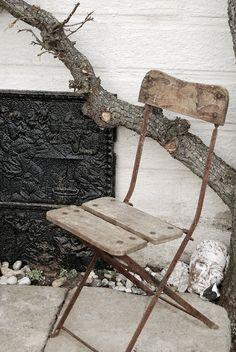 rusty chair