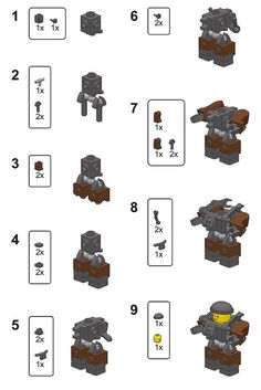Mini Hardsuit Instructions by pasukaru76, via Flickr