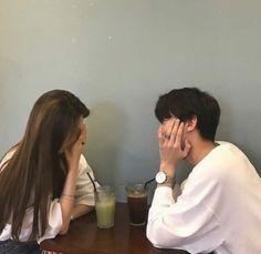 Couple, ulzzang, and korean image Couple Ulzzang, Ulzzang Girl, Ullzang Boys, Photoshoot Idea, Couple Goals Cuddling, Korean Ulzzang, Couple Aesthetic, Korean Couple, Photo Couple