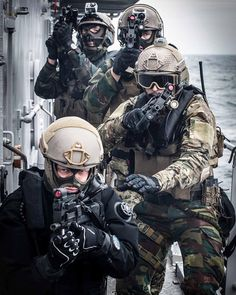 Get your shit done - Belgian SFG during VBSS