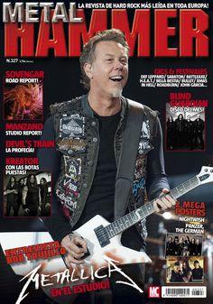 #Metal Hammer 327. #Metallica en el estudio!