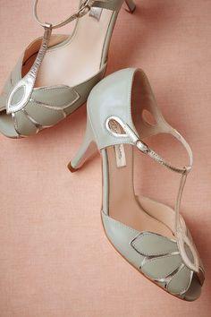 Gatsby mint heels.