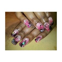 365 Days of Nail Art found on Polyvore featuring beauty products, nail care, nail treatments and nails