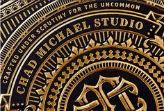 30 Exquisite Examples of Black and Gold Business Cards