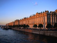 Winter Palace on the Neva River, St. Petersburg