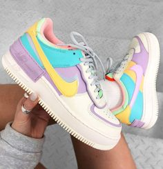Nike Air Force One Colors for only € do you like them? Nike Air Force Ones, Nike Air Force 1 Outfit, Air Force One Shoes, Nike Air Shoes, Nike Shoes Outlet, Nike Tennis Shoes, Sneakers Fashion, Fashion Shoes, Shoes Sneakers