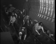 """A look at """"Fluffies"""" who clean the Tube at night (1944). View the film: http://www.britishpathe.com/video/fluffies"""