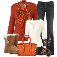 """""""Untitled #31"""" by macymere on Polyvore (Exchange the Uggs for something cute.)"""