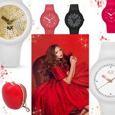 Oggi con la top model Lily Cole in un rosso irresistibile continuiamo a suggerirvi favolose idee regalo luccicose per Natale: la pochette di Biancaneve creata da Red Valentino per un regalo importante, e gli orologi da polso H2X ONE con cinturino e cover intercambiabile a partire da 17 euro, il regalo perfetto per l'amica del cuore, accessibile a tutti! Cercate il punto vendita H2X più vicino sul sito ufficiale Swan Co!