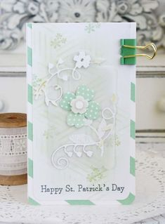 Happy St. Patrick's Day Card by Melissa Phillips for Papertrey Ink (February 2016)