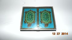 Vintage Hallmark Turtle playing cards double deck by AltmodischVintage on Etsy