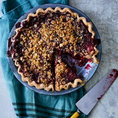 Highway 61 is Minnesota's unofficial pie trail, and a stop for a slice is a must on a road trip. This summer pie recipe is adapted from Rustic Inn Café in Two Harbors. Summer Berry Pie Recipe, Summer Pie, Pudding Recipes, Pie Recipes, Dessert Recipes, Nutella Recipes, Recipies, Easy Blueberry Desserts, Delicious Desserts
