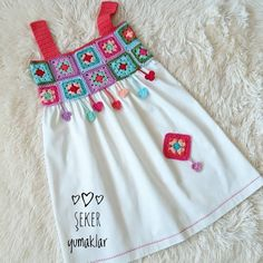 # Use it on # nice days. Contact # # to order # … – kinder mode Boho Baby Clothes, Crochet Baby Clothes, Sewing Clothes, Baby Girl Dress Patterns, Dresses Kids Girl, Kids Outfits, Baby Frocks Designs, Kids Frocks Design, Baby Dress Design