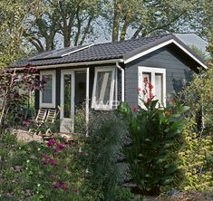 Enjoy your garden with a quality garden cabin, insulated & double glazed for all year round use. Cabin Office, Garden Log Cabins, Garden Office, Bespoke Design, Colour Schemes, Shed, Outdoor Structures, Inspiration, Home