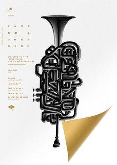 Jazzed & Confused by Anton Burmistrov, via Behance