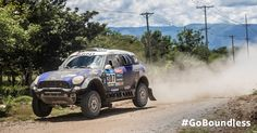 MINI takes off on the final stretch of the Dakar Rally 2015.