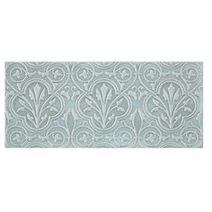Chantilly Biscuit Alencon Ceramic Subway Wall Tile 4 X