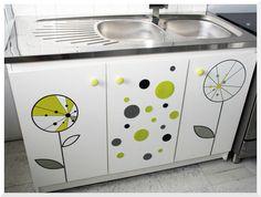 "Foyer doux foyer ""Home sweet home"": Customiser un meuble sous-évier"