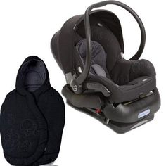 MaxiCosi Mico Infant Car Seat With Footmuff Total Black Check Out The Image By