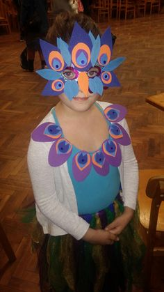 Páva jelmez, peacock costume