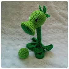 Výsledek obrázku pro plants and zombies crochet