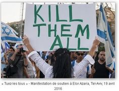 Depuis un an et demi, des dizaines d'hommes, de femmes et d'enfants palestiniens ont été tués bien qu'ils eussent pu être maîtrisés quand ils étaient encore en vie. La différence entre ces tueurs israéliens et Azaria [qui a assassiné d'une balle dans...