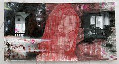 Amelie Von Wulffen, photo collage