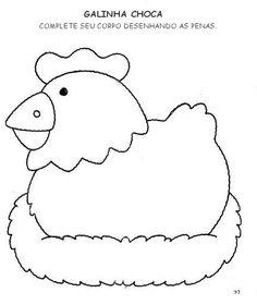 Atividades para Maternal Farm Animals, Activities For Kids, Coloring Pages, Preschool, Clip Art, Classroom, Kids Rugs, Symbols, Album