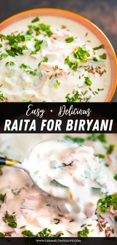 Raita is a delicious side and an integral part of an Indian menu. This is an easy recipe for raita for biryani, in which the basic onion raita is mixed with tomato, grated carrots, and cucumber. Made in under 10 minutes, super delicious too! Healthy Indian Recipes, North Indian Recipes, Best Raita Recipe, Chaat Masala, Biryani, Food Videos, Make It Simple, Easy Meals, Vegetarian